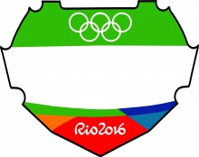 Rio Olympic Bmx Replica Box Decal